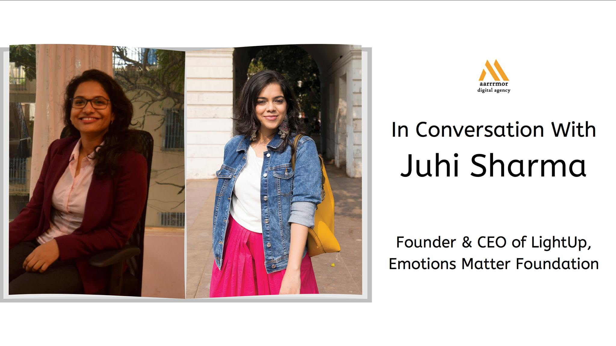 Founder Interview with Juhi Sharma, Founder & CEO of LightUp