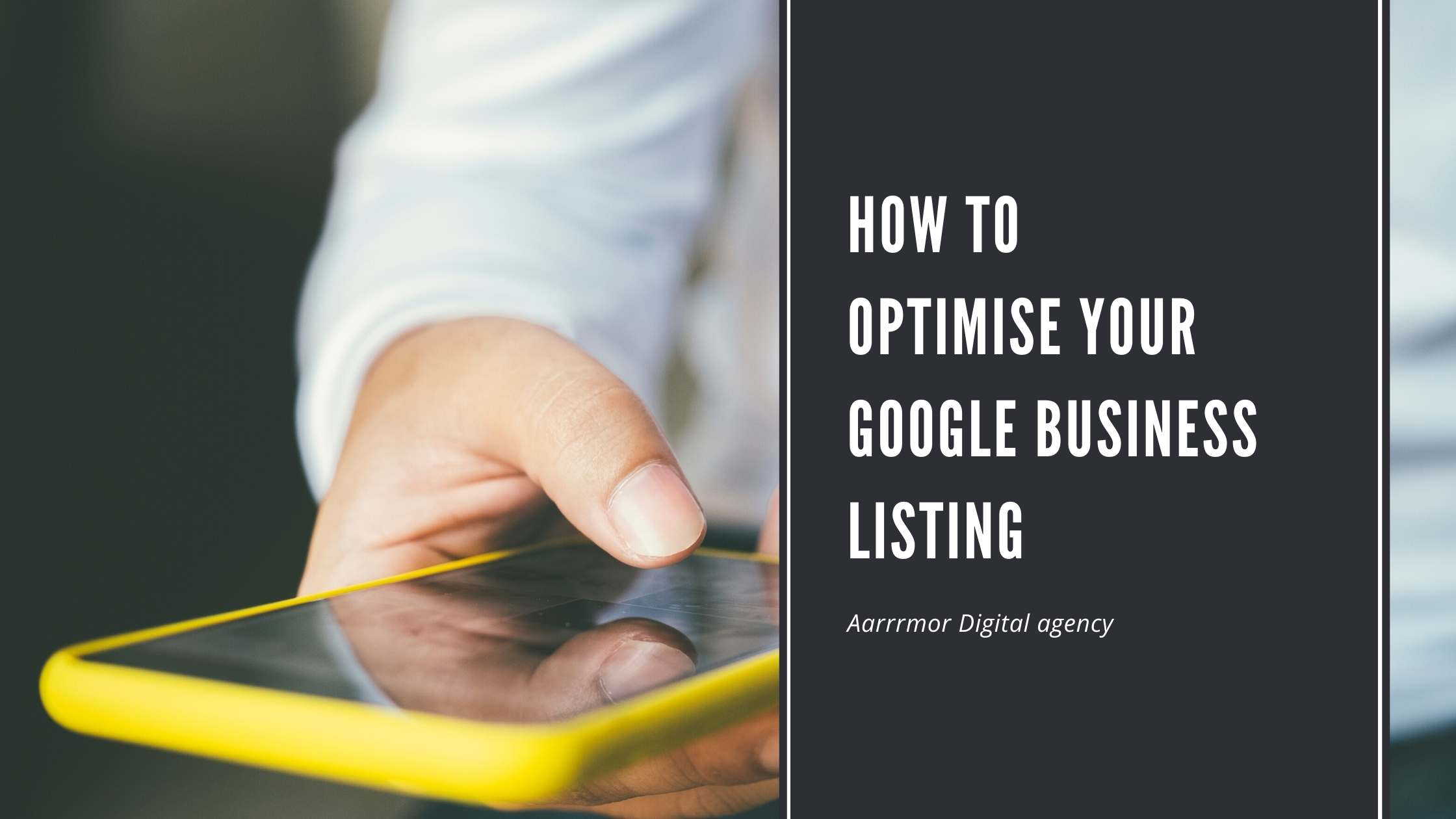How to  Optimize Your Google Business Listing